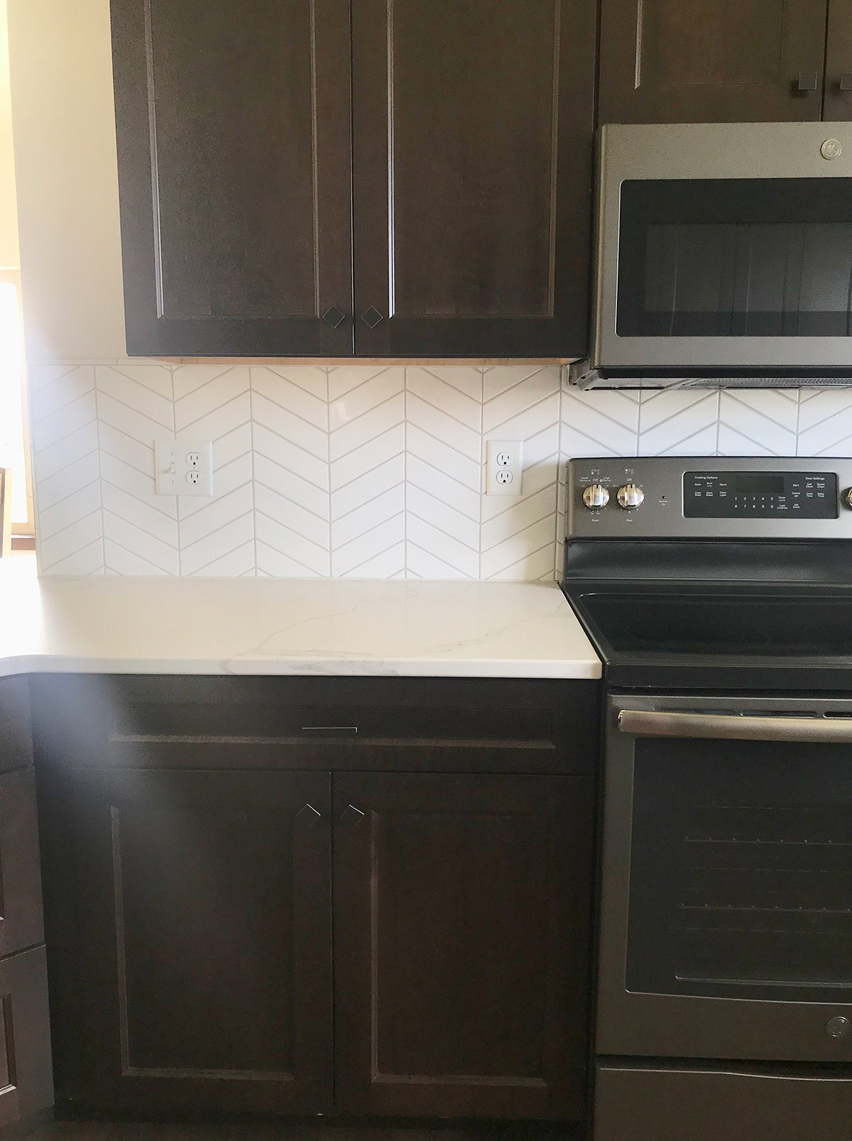 Churchill Kitchen with white back splash